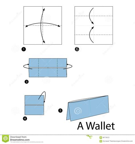 how to make an origami wallet step by step how to make origami a wallet