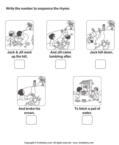 sequencing picture books story sequencing and worksheet turtle diary