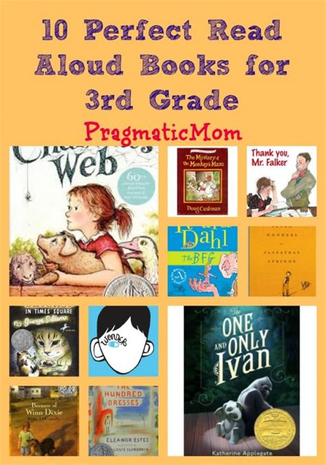picture books to read 10 read aloud books for 3rd grade pragmaticmom
