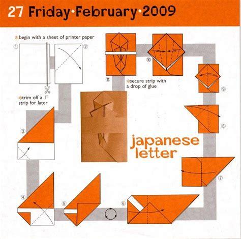 origami letter folds japenese letter origami