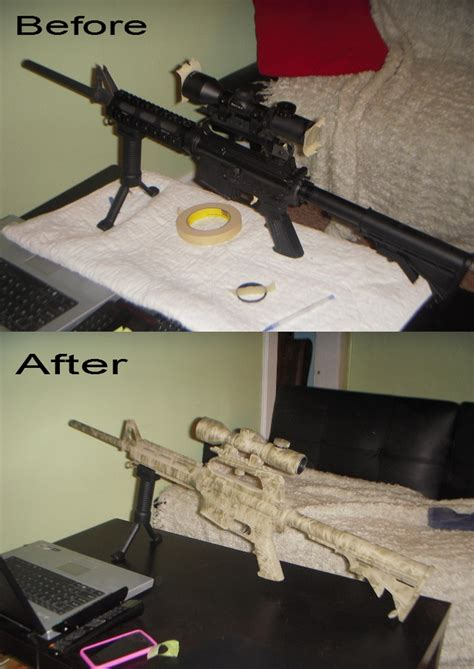 spray painting your ar15 diy paint your ar 15 guns