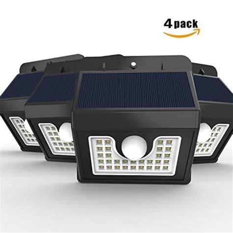 solar outdoor security lighting vivii solar lights bright led security lighting outdoor