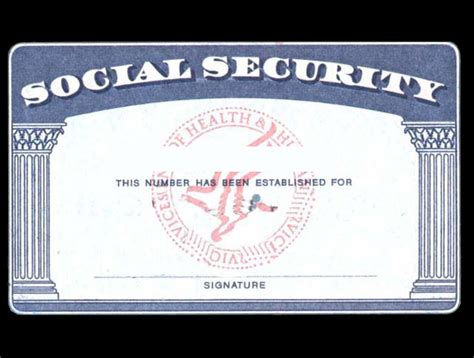 make social security card 5 best images of social security cards printable