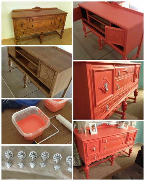 chalk paint colors diy so awesome painted coral hutch chalk paint diy painted