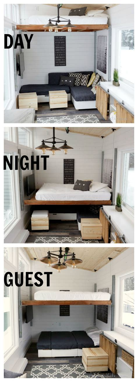 diy small house plans open concept rustic modern tiny house photo tour and