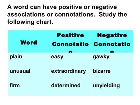neutral connotation denotation and connotation