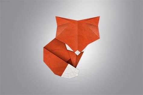 fox origami fox origami fox raposa