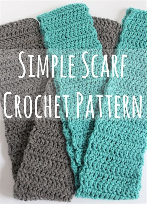how to knit a scarf quickly easy crochet scarf pattern crochet and knit