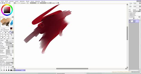paint tool sai square brush paint tool sai brush tutorial