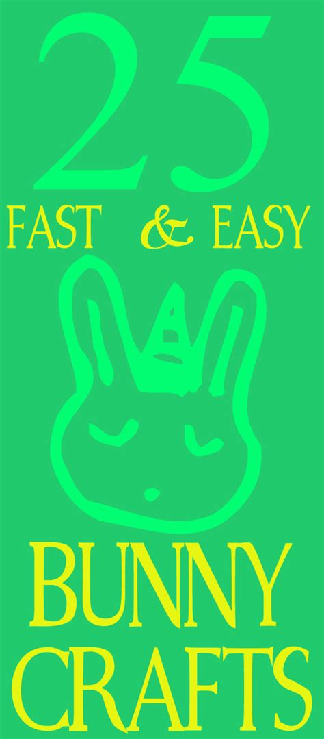 fast easy crafts 25 and easy bunny crafts 30 minute crafts