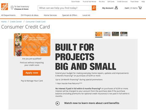 home depot credit card make payment home depot credit card review creditloan 174