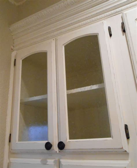 cabinet door glass diy changing solid cabinet doors to glass inserts simply
