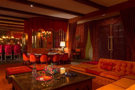 Glamorous Homes Interiors adee do indeed the 1969 interiors in palm springs