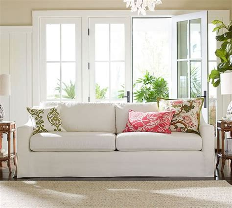 pottery barn slipcovered sofa reviews york slope arm slipcovered sofa pottery barn