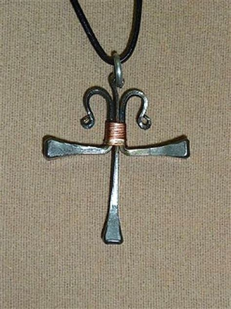 How To Make A Horseshoe Nail Cross Necklace From Pandahall