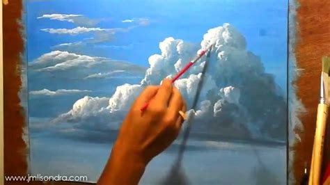 acrylic paint wiki how to paint clouds in acrylic painting