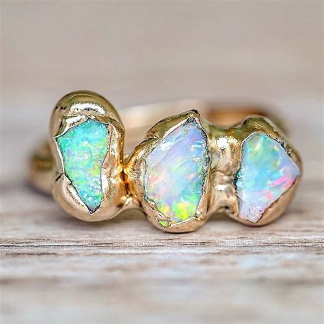 Opel Rings by 1000 Ideas About Australian Opal Rings On