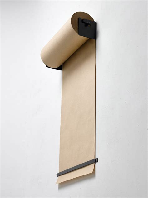 craft paper dispenser wall mounted kraft paper roll dispenser design milk