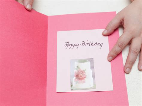 ways to make a birthday card 4 ways to make a simple birthday card at home wikihow