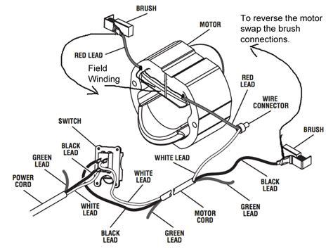 Brushed Ac Motor by Ac Brush Motor Wiring Diagram Ac Electric Motor Start