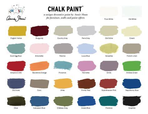 chalk paint colors sloan chalk paint