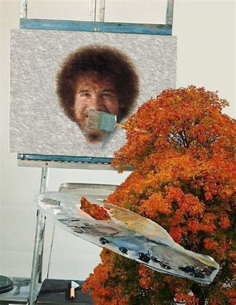 bob ross painting in photoshop painting a happy bob ross barnorama