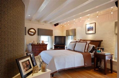 track lighting for bedroom shining a spotlight 34 gorgeous track lighting ideas for