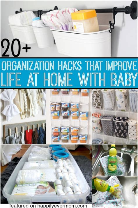hacks for home organization organization hacks for everything that baby needs