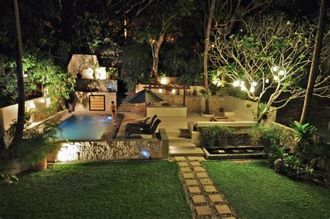 tropical patio design tropical garden with swimming pool and patio tropical