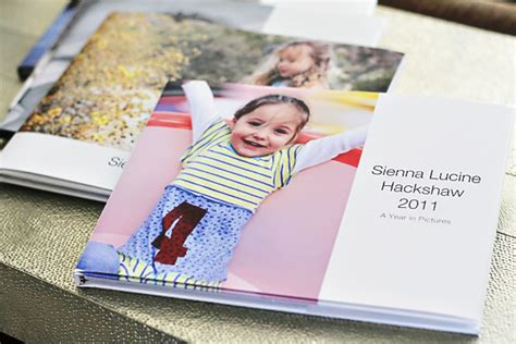 ideas for picture books yearly photo book ideas