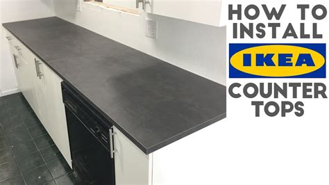 Laminate For Kitchen Cabinets how to install laminate ikea countertops quick and