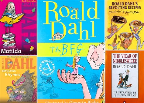 roald dahl books pictures a roald dahl book for every of kid brightly