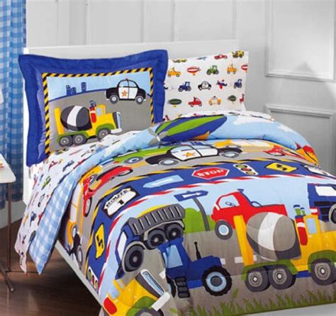 construction bed set construction toddler bedding sets construction bedding