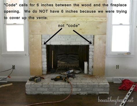 how to build fireplace build a gas fireplace surround plans free