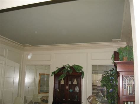 paint color for ceiling painting tray ceiling a different color panels paint