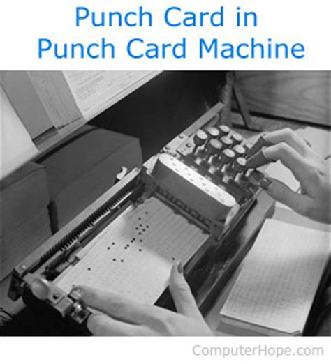 card punches what is punch card