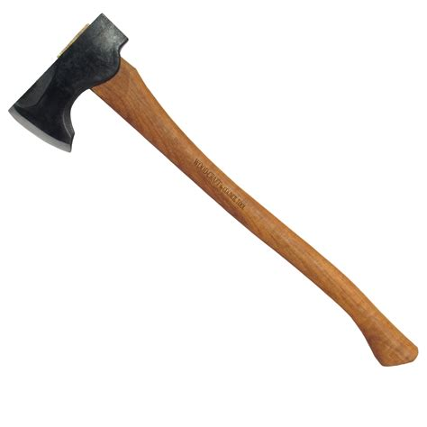 2 Wood Craft Pack Axe 24 Curved Handle Mask Council Tool