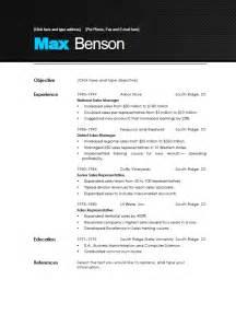 modern resume template beepmunk