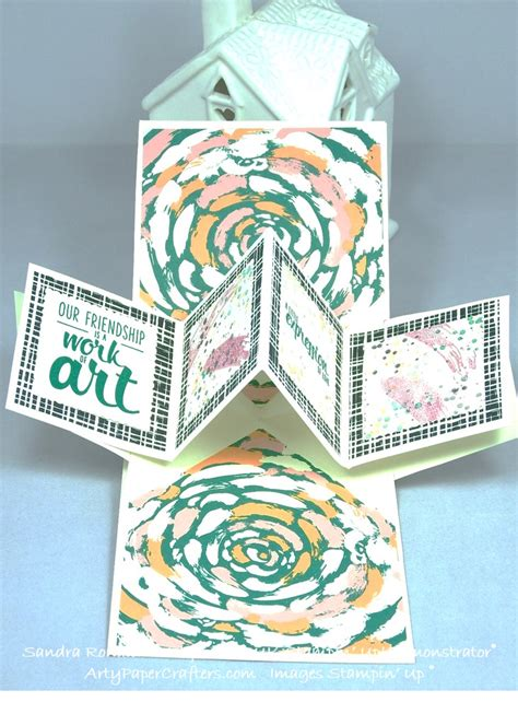 pop up card tutorial stin up pop up panel card arty paper crafters