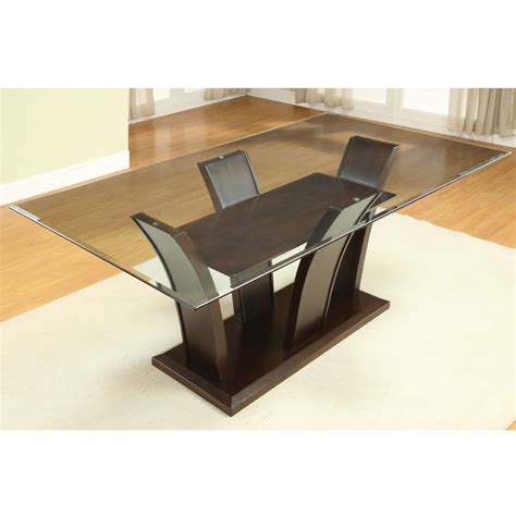 bases for glass dining room tables glass dining room table bases marceladick
