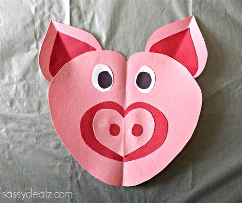 pig craft for pig craft for crafty morning