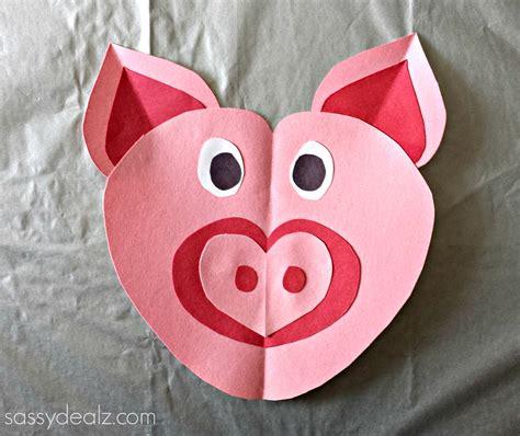 pig crafts for pig craft for crafty morning
