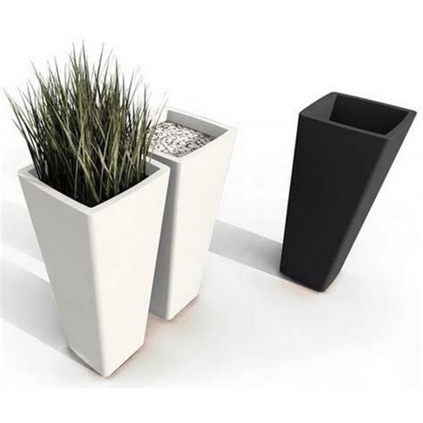 pot de fleurs design all so noir blanc paul qui est paul