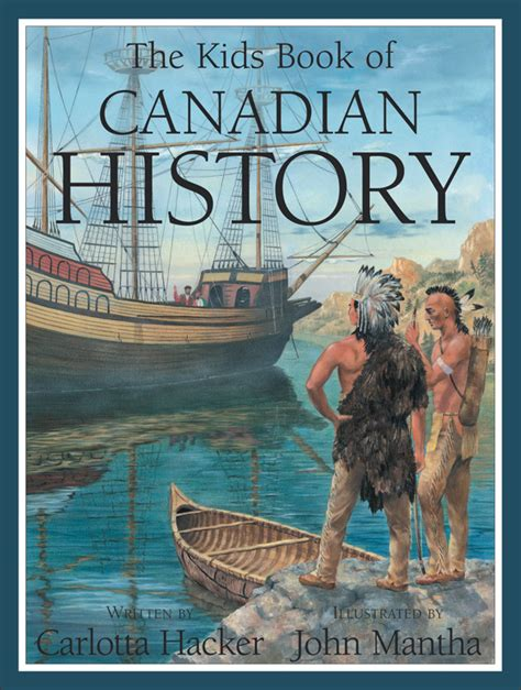 canadian picture books the book of canadian history can press