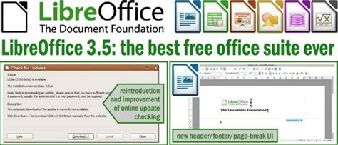 free office libreoffice great free office suite gets upgrades