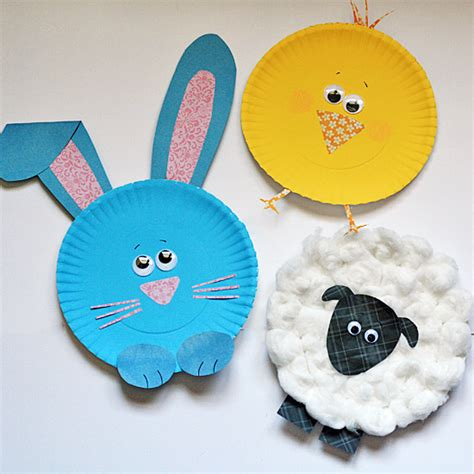 paper plate crafts for paper plate easter characters 183 kix cereal