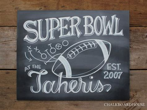 painting chalkboard signs chalkboard football sign something crafty