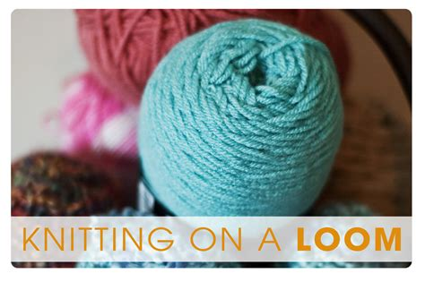 how to cast loom knitting a scarf cold warm knitting on a loom