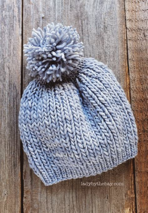knitting patterns for needles by the bay anthropologie inspired knitted hat pattern
