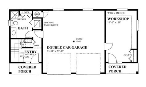 garage floor plan 21 surprisingly garage workshop floor plans house plans